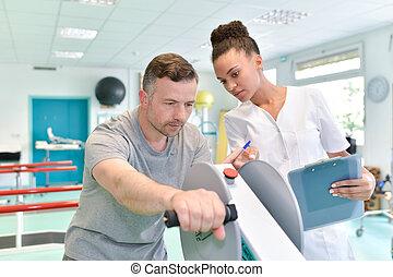 modern, rehabilitation, physiotherapie
