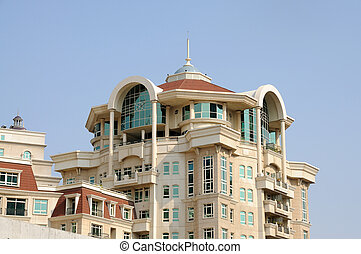 Modern residential house in Dubai city