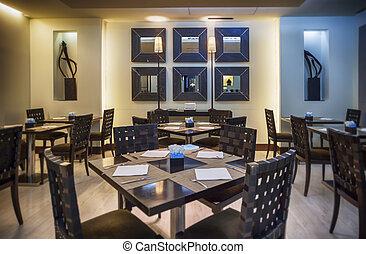 modern restaurant in Japanese style