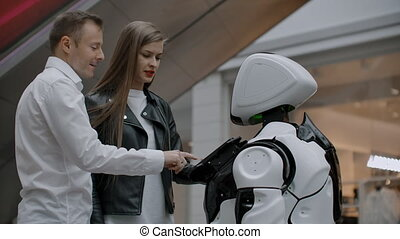 Modern Robotic Technologies of interaction with people....