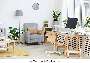 Modern room in apartment