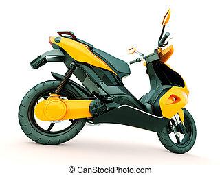 Modern scooter