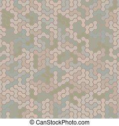 Modern seamless digital desert camo background pattern....