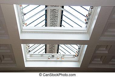 Modern Skylight  - Roof window of a modern building