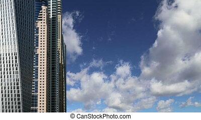 Modern skyscrapers, Dubai Marina