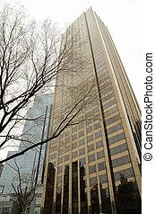 Skyscrapers in Midtown Manhattan - Modern Skyscrapers in...