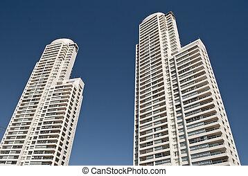 modern skyscrapers, Rosario, Argentina