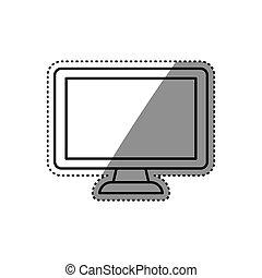 Modern smart tv