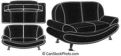 Modern Sofa Vector 24.eps