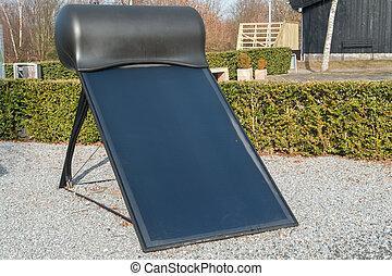 Modern solar water heater