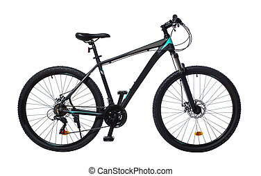 modern sports mountain bike