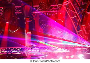 stage lighting equipment - Modern stage lighting equipment ...