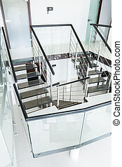 Modern staircase at home