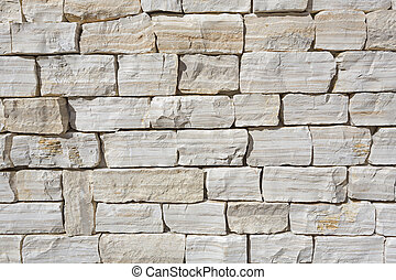 Modern stone wall as background