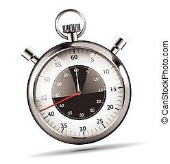 Modern stopwatch