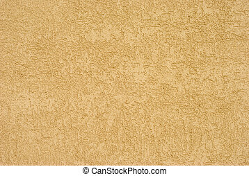 Modern Stucco Texture - Fragment of rough modern wall stucco...