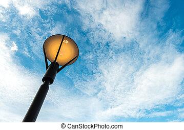 modern style lamp