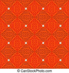 Modern stylization of Indian patterns