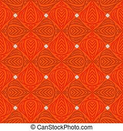 Modern stylization of Indian patterns