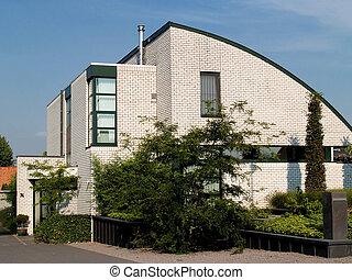 Modern Suburban house.