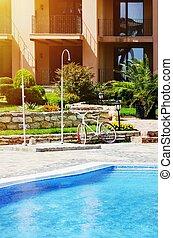 Modern Summer Resort With Pool