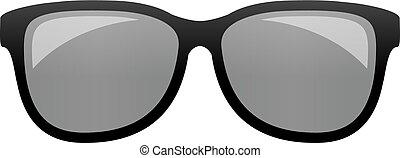 Modern sunglasses vector illustration