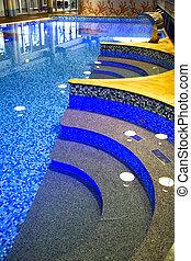 Modern swimming-pool