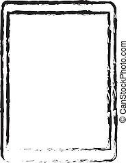 Modern Tablet Doodle