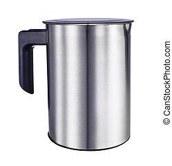 Modern teapot isolated on white