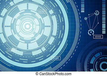 Modern Technology Abstract Background