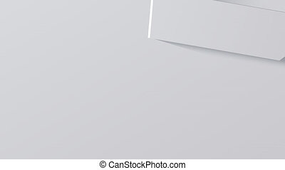 Modern technology arrow animation background.