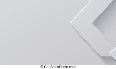 Modern technology arrow animation background. 4K animation
