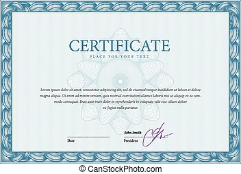 Template certificate and diplomas - Modern Template...