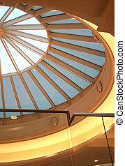 modern, tető