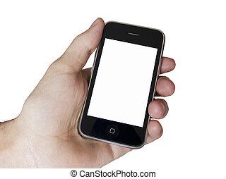 Modern touch screen phone