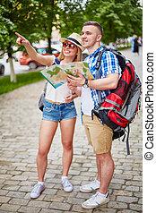 Modern tourists
