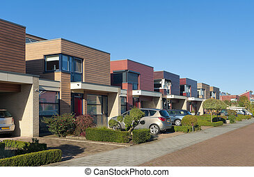 modern town houses