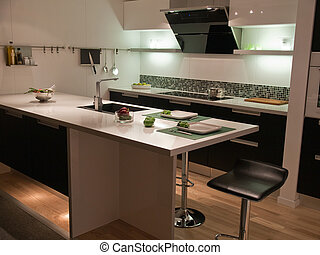 Modern trend design kitchen