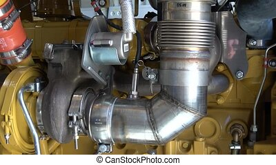 turbocharger in a diesel engine