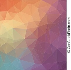 Modern Two-dimensional  colorful background for web design