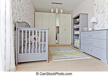 Modern universal nursery
