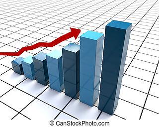 Modern uprising business chart