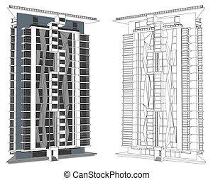 Modern Urban Buildings
