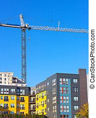 Modern urban development