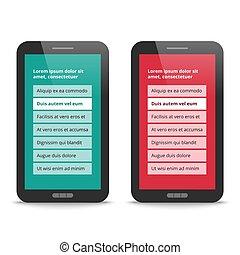 Modern User Interface design