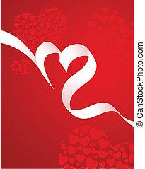 Modern Valentines card