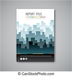 Modern Vector abstract brochure design template - Modern ...