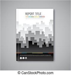 Modern Vector abstract brochure design template - Modern...
