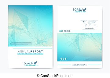 Modern vector template for brochure, Leaflet, flyer, advert,...