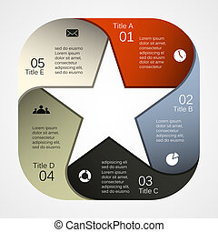 Modern vector template for your business project - Layout ...